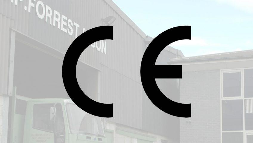 JP Forrest awarded CE Mark